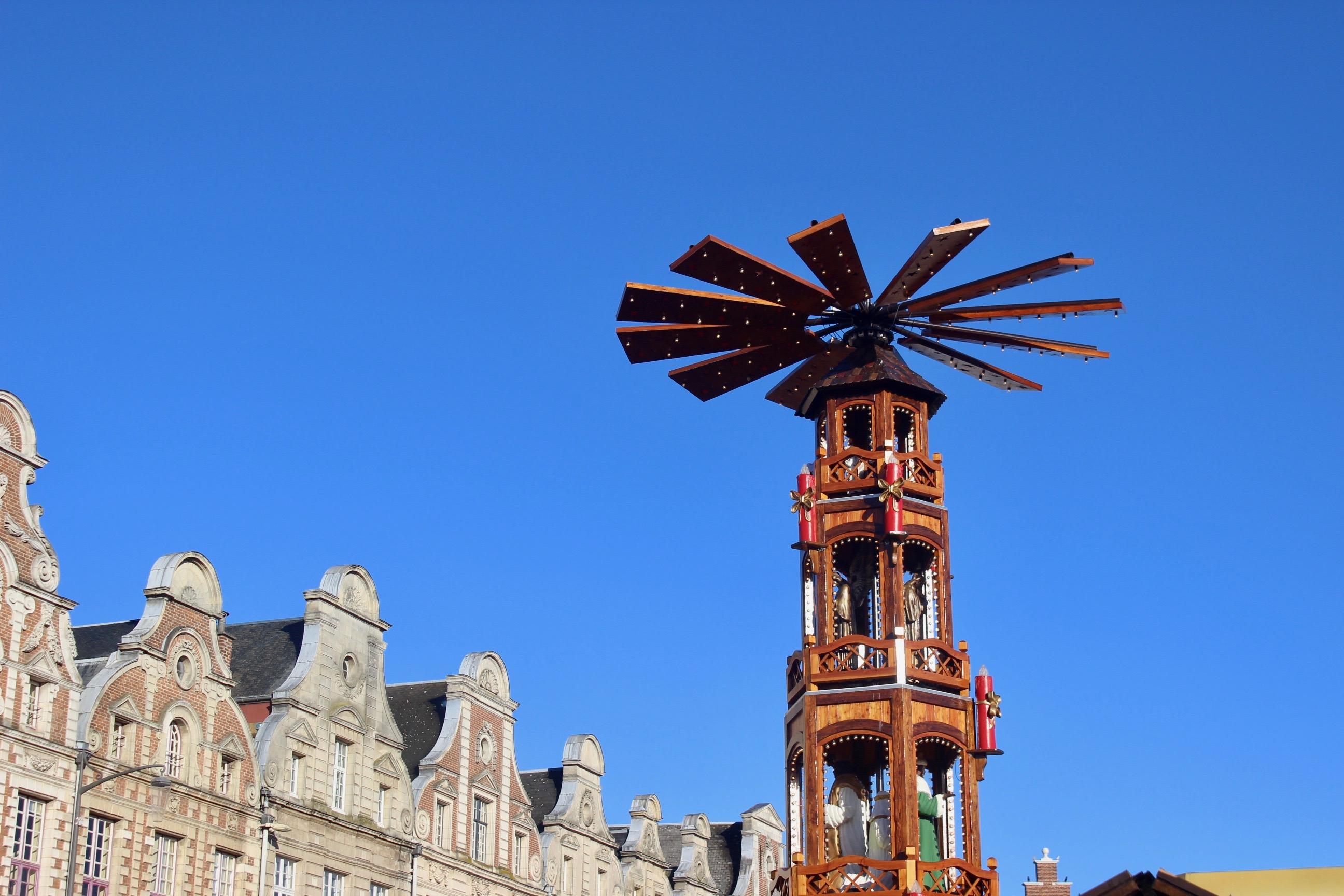 Le marché de Noël d'Arras